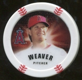 2013 Topps Chipz Magnets #JW Jered Weaver