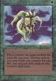 Magic the Gathering Alpha Single Living Artifact - SLIGHT PLAY (SP)
