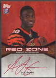 2011 Topps #RZRAAJG A.J. Green Rookie Red Zone Auto #057/100