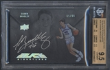2012/13 Exquisite Collection #SB Shawn Bradley UD Black Auto #65/99 BGS 9.5