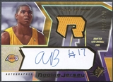 2005/06 SPx #132 Andrew Bynum Rookie Jersey Auto #1096/1499