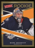 2010/11 Upper Deck Victory Gold #319 Mark Dekanich