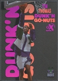 1998/99 E-X Century #1 Tim Thomas Dunk 'N Go Nuts