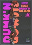 1998/99 E-X Century #13 Robert Traylor Dunk 'N Go Nuts