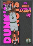 1998/99 E-X Century #19 Ron Mercer Dunk 'N Go Nuts