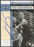 2003/04 Upper Deck Legends #SC Sam Cassell Signs of a Future Legend Auto