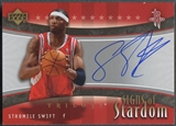 2005/06 Upper Deck Trilogy #ST Stromile Swift Signs of Stardom Auto