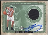 2002/03 Upper Deck Honor Roll #TCAJ Tyson Chandler Principals Jersey Auto