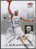 2007/08 Ultra SE #AUJW James White Autographics Black Auto