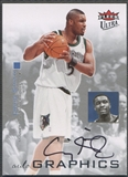 2007/08 Ultra SE #AUSM Craig Smith Autographics Black Auto