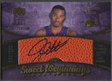2007/08 Sweet Shot #96 Javaris Crittenton Rookie Auto #044/299
