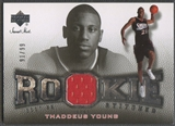 2007/08 Sweet Shot #TY Thaddeus Young Rookie Stitches Jersey #91/99