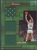 2007/08 Bowman #LB Larry Bird Relics Triple Bronze Jersey #50/50