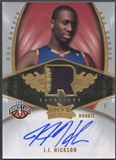 2008/09 Hot Prospects #123 J.J. Hickson Rookie Patch Auto #017/399