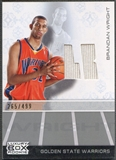 2007/08 Topps Luxury Box #BW Brandan Wright Rookie Jersey #265/499