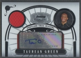 2007/08 Bowman Sterling #TG Taurean Green Rookie Jersey Auto #077/218