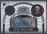 2007/08 Bowman Sterling #SW Sean Williams Rookie Jersey Auto #119/218