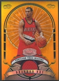 2007/08 Bowman Sterling #BR Brandon Roy Gold Refractor Jersey #20/25