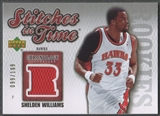 2006/07 Chronology #SITSW Shelden Williams Stitches in Time Rookie Jersey #099/199