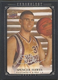 2007/08 Chronology #222 Spencer Hawes Rookie Auto #27/99