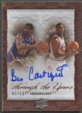 2007/08 Chronology #TEBC Bill Cartwright Through the Years Auto #02/50