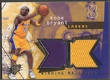2004/05 SPx #KB Kobe Bryant Winning Materials Jersey