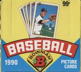 1990 Bowman Baseball Jumbo Box