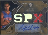 2007/08 SPx #116 Arron Afflalo Rookie Jersey Auto #452/825