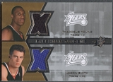 2007/08 SPx #YS Thaddeus Young & Jason Smith Freshman Orientation Tandems Rookie Jersey