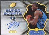 2007/08 SPx #DH Dwight Howard Super Scripts Auto