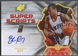 2007/08 SPx #BR Brandon Roy Super Scripts Auto