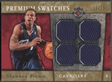 2006/07 Ultimate Collection #PRSB Shannon Brown Premium Swatches Rookie Jersey #22/75