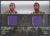 2006/07 Ultimate Collection #RN Michael Redd & David Noel Combos Dual Jersey #46/75