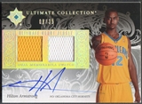 2006/07 Ultimate Collection #UDHA Hilton Armstrong Debut Rookie Jersey Auto #08/35