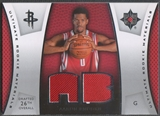 2007/08 Ultimate Collection #AB Aaron Brooks Materials Rookie Jersey