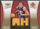 2007/08 Ultimate Collection #AH Al Horford Materials Gold Rookie Jersey #91/99