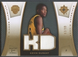 2007/08 Ultimate Collection #KD Kevin Durant Materials Gold Rookie Jersey #63/99