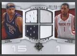 2007/08 Ultimate Collection #CM Vince Carter & Tracy McGrady Matchups Jersey #90/99