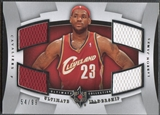 2007/08 Ultimate Collection #LJ LeBron James Leadership Jersey #54/99