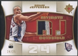 2007/08 Ultimate Collection #RJ Richard Jefferson Materials Patch #24/25