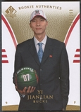 2007/08 SP Authentic #102 Yi Jianlian Rookie #018/299