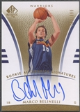 2007/08 SP Authentic #107 Marco Belinelli Rookie Auto /999