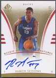 2007/08 SP Authentic #118 Ramon Sessions Rookie Auto #458/999