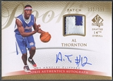 2007/08 SP Authentic #125 Al Thornton Rookie Patch Auto #395/599
