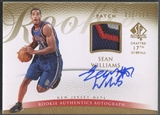 2007/08 SP Authentic #127 Sean Williams Rookie Patch Auto #036/599