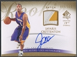2007/08 SP Authentic #128 Javaris Crittenton Rookie Patch Auto #044/599