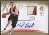2007/08 SP Authentic #129 Jason Smith Rookie Patch Auto #177/599
