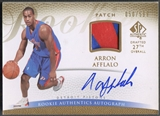 2007/08 SP Authentic #134 Arron Afflalo Rookie Patch Auto #050/599