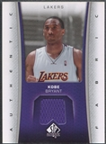 2006/07 SP Authentic #KB Kobe Bryant Fabrics Jersey