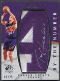 "2007/08 SP Authentic #BNCH Tom Chambers By The Number ""4"" Patch Auto #45/75"